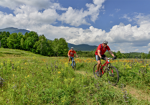 Biking at Great Glen Trails Outdoor Center